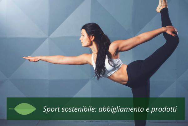 Sport sostenibile abbigliamento e prodotti